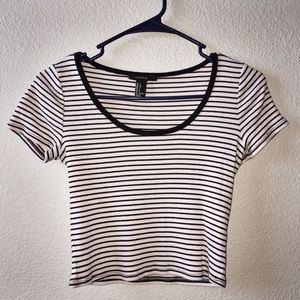 🌔 STRIPED CROP TOP 🌔